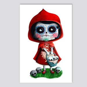 Spooky Red Riding Hood Postcards (Package of 8)