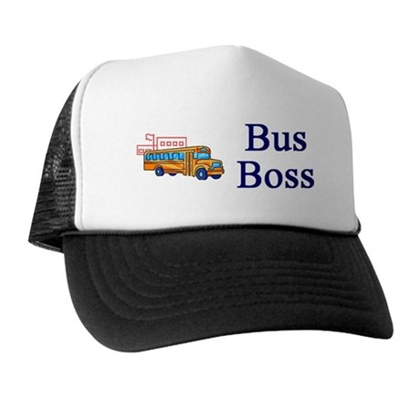 Bus Boss Trucker Hat