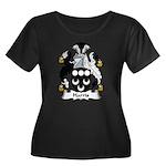 Harris Women's Plus Size Scoop Neck Dark T-Shirt