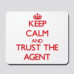 Keep Calm and Trust the Agent Mousepad