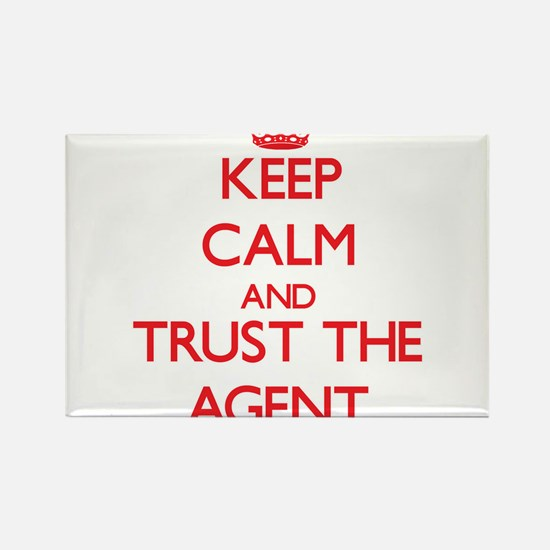 Keep Calm and Trust the Agent Magnets
