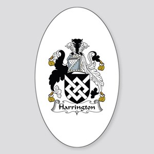 Harrington Oval Sticker
