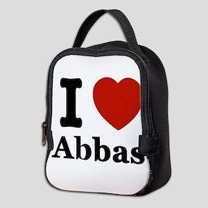 I love Abbas Neoprene Lunch Bag