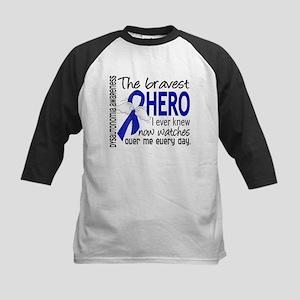 Bravest Hero I Knew Dysautono Kids Baseball Jersey
