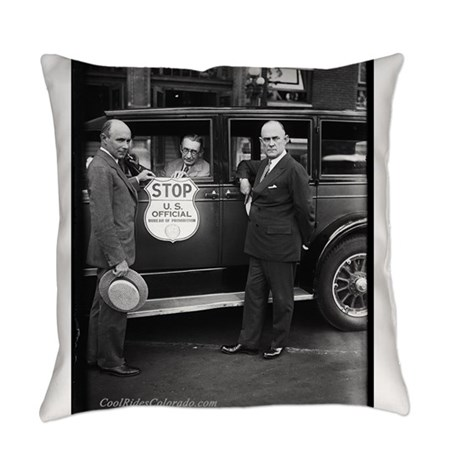 Bureau Of Prohibition Everyday Pillow