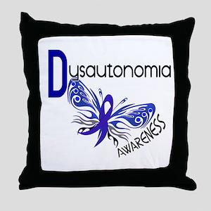 Butterfly 3.1 Dysautonomia Throw Pillow