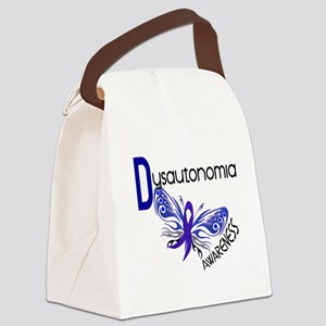 Butterfly 3.1 Dysautonomia Canvas Lunch Bag