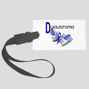 Butterfly 3.1 Dysautonomia Large Luggage Tag