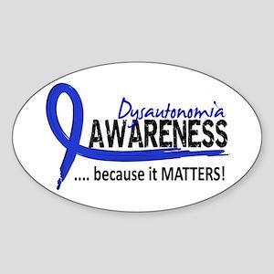 Awareness 2 Dysautonomia Sticker (Oval)