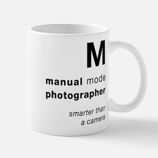 M = smarter than a camera Mugs