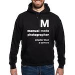 M = smarter than a camera Hoodie
