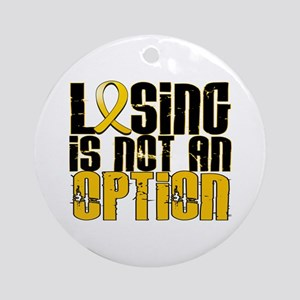 Losing Is Not an Option COPD Ornament (Round)