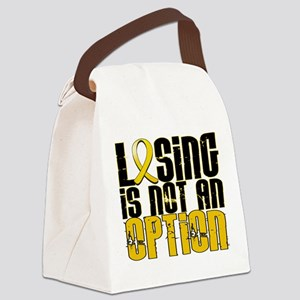 Losing Is Not an Option COPD Canvas Lunch Bag