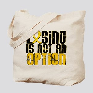 Losing Is Not an Option COPD Tote Bag