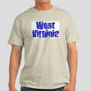 Distorted West Virginia Light T-Shirt