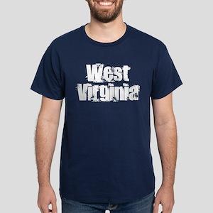 Distorted West Virginia Dark T-Shirt
