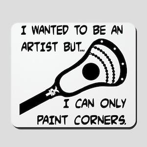 Lacrosse_PaintCorners Mousepad