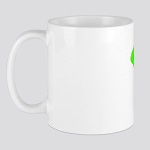Exotic green butterfly Mug