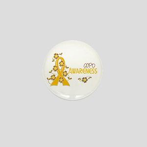 Awareness 6 COPD Mini Button