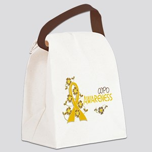 Awareness 6 COPD Canvas Lunch Bag
