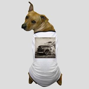 Burnout Pit Truck Dog T-Shirt