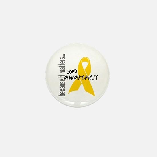Awareness 1 COPD Mini Button