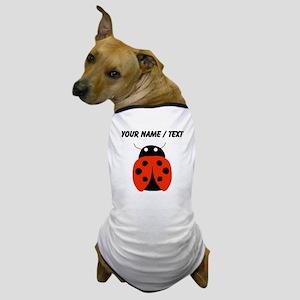 Custom Red Ladybug Dog T-Shirt