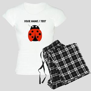 Custom Red Ladybug Pajamas
