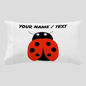 Custom Red Ladybug Pillow Case