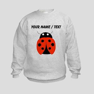 Custom Red Ladybug Sweatshirt