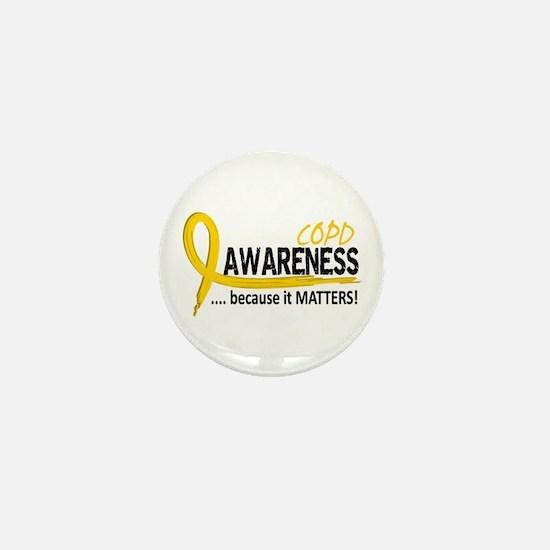 Awareness 2 COPD Mini Button