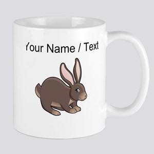 Custom Brown Bunny Mugs