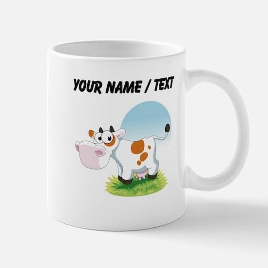 Custom Cartoon Cow Mugs