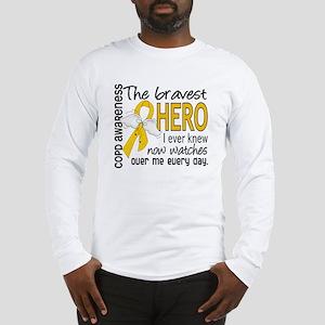 Bravest Hero I Knew COPD Long Sleeve T-Shirt