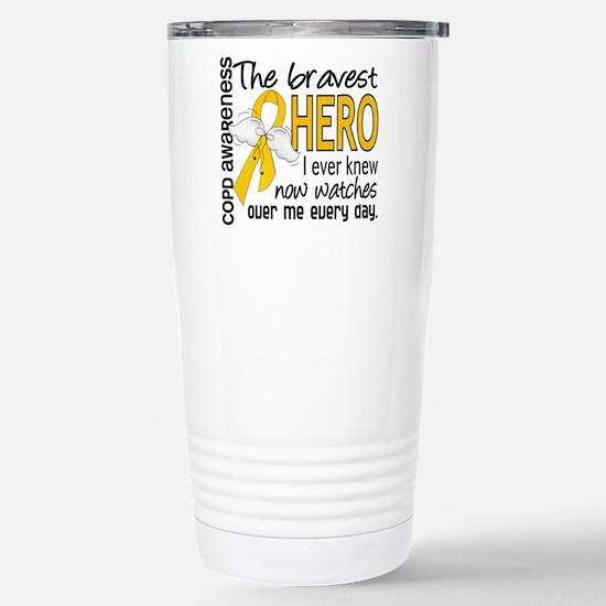 Bravest Hero I Knew COP Stainless Steel Travel Mug