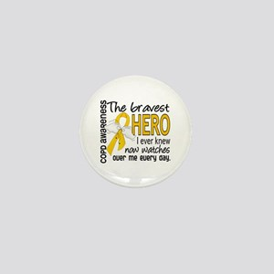 Bravest Hero I Knew COPD Mini Button