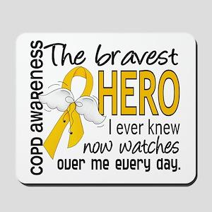 Bravest Hero I Knew COPD Mousepad