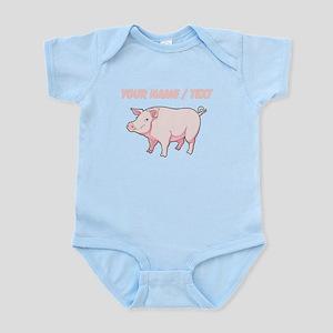 Custom Pink Pig Body Suit