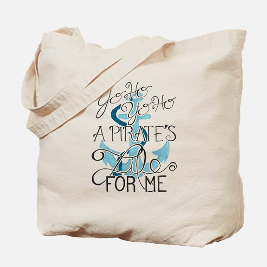 Funny Pirate ships Tote Bag