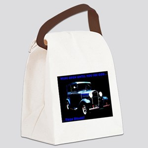 Wide Open Canvas Lunch Bag
