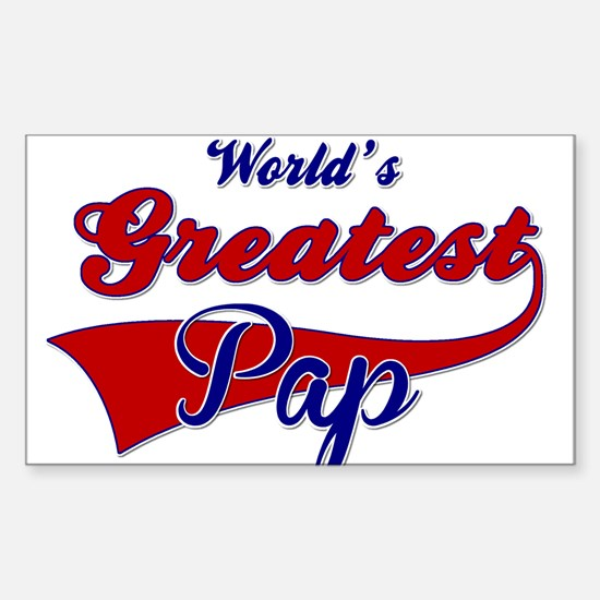 Worlds Greatest Pap Decal