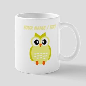 Custom Yellow Owl Mugs