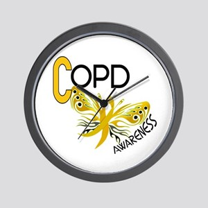 Butterfly 3.1 COPD Wall Clock