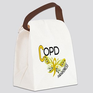 Butterfly 3.1 COPD Canvas Lunch Bag