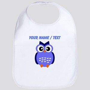 Custom Blue Owl Bib