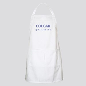 COUGAR of the MONTH CLUB Apron