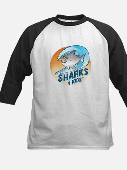 Sharks For Kids Logo Kids Baseball Jersey