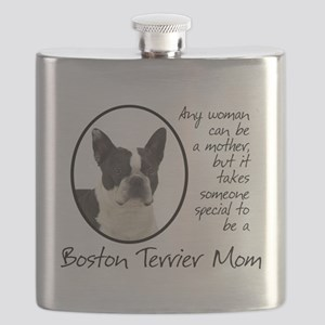 Boston Terrier Mom Flask