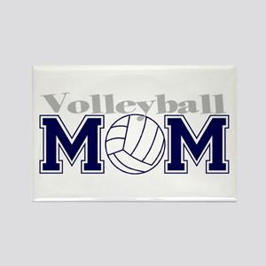 Volleyball Mom II Rectangle Magnet