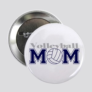 Volleyball Mom II Button